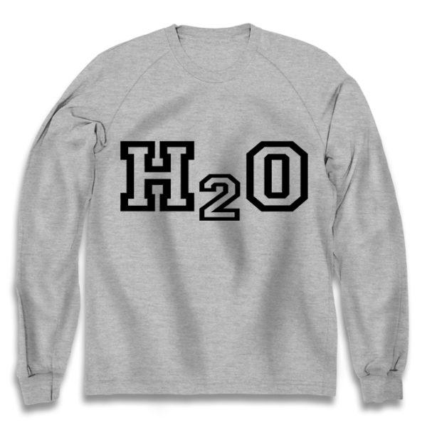 свитшот H2O