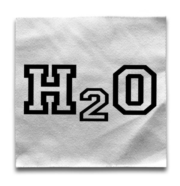 нашивка H2O