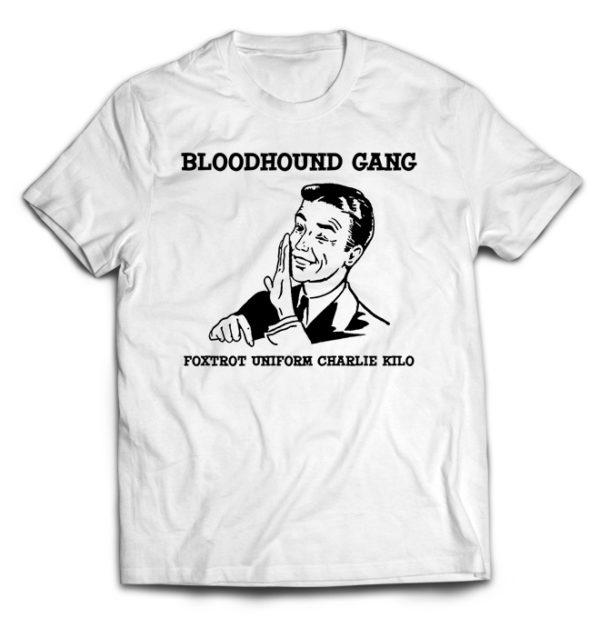 футболка белая Bloodhound Gang