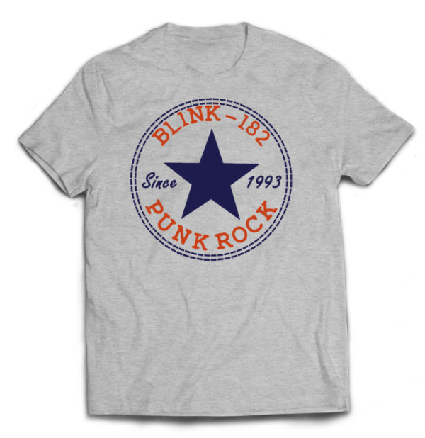 футболка серая Blink-182