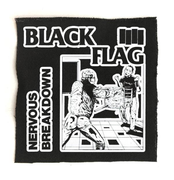 нашивка Black Flag