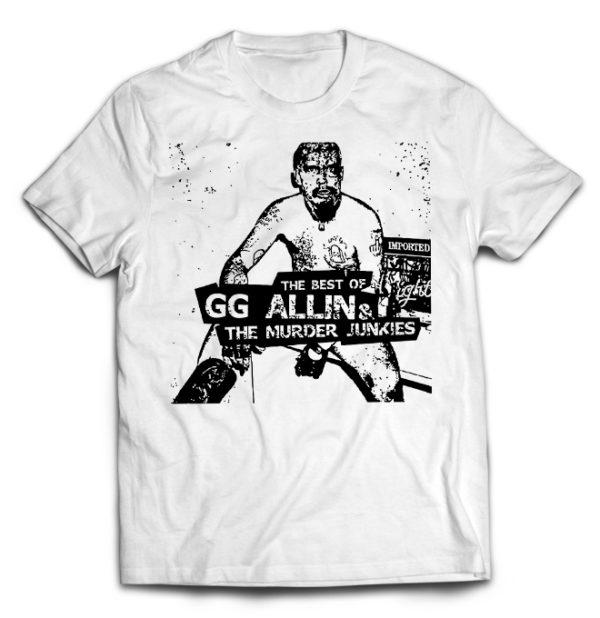футболка белая GG Allin