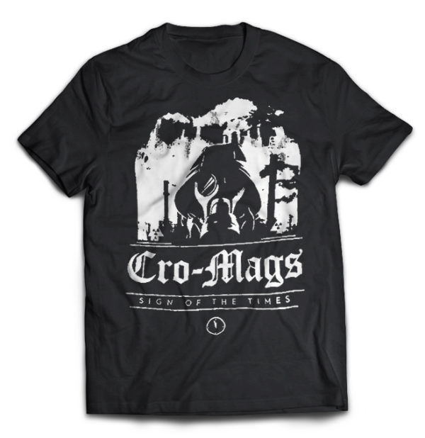 футболка Cro-Mags