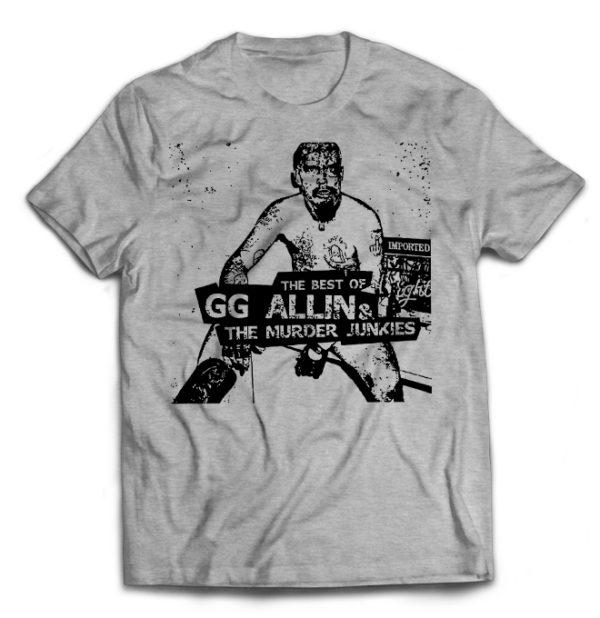 футболка серая GG Allin