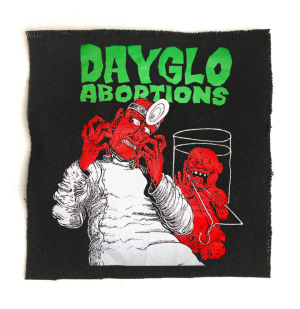 нашивка Dayglo Abortions