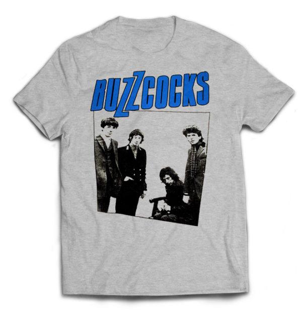 футболка серая Buzzcocks