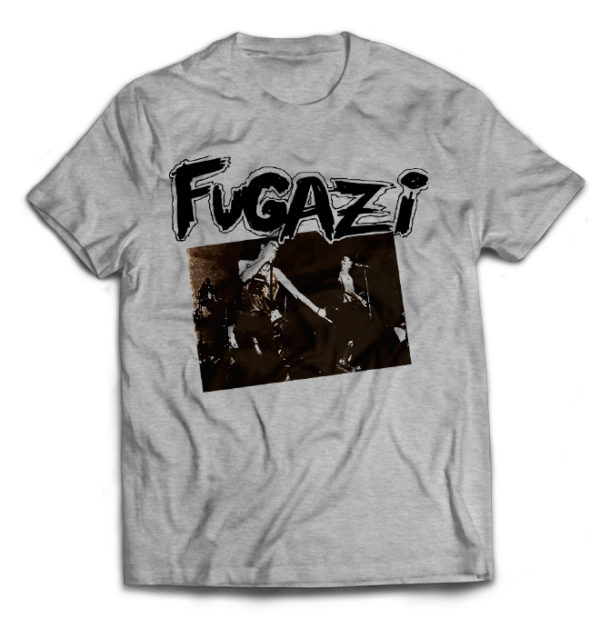 футболка серая Fugazi