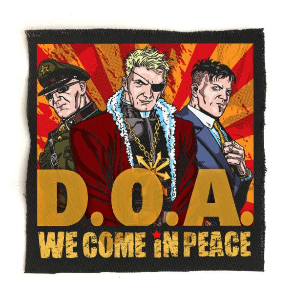 нашивка D.O.A