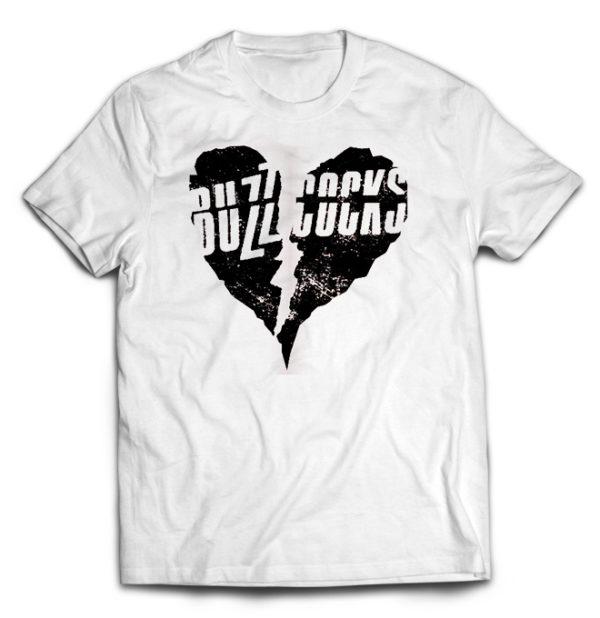 футболка белая Buzzcocks