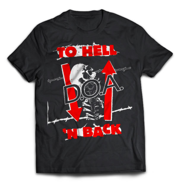 футболка D.O.A