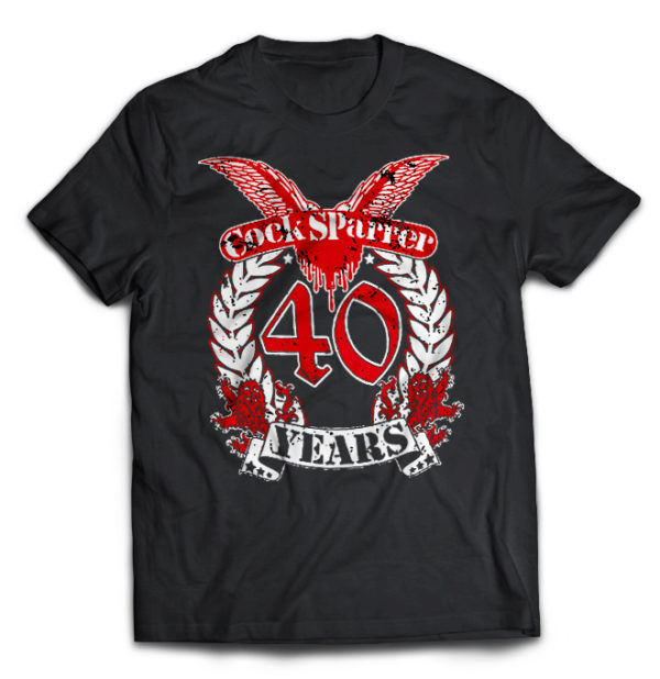 футболка Cock Sparrer