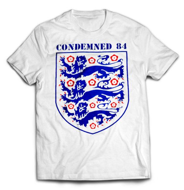футболка белая Condemned 84