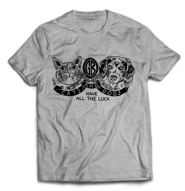 футболка серая Gorilla B