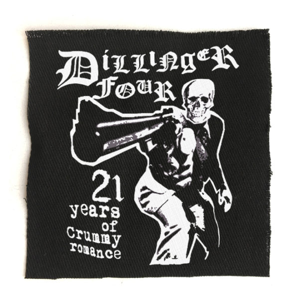 нашивка Dillinger four