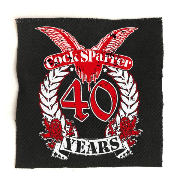 нашивка Cock Sparrer