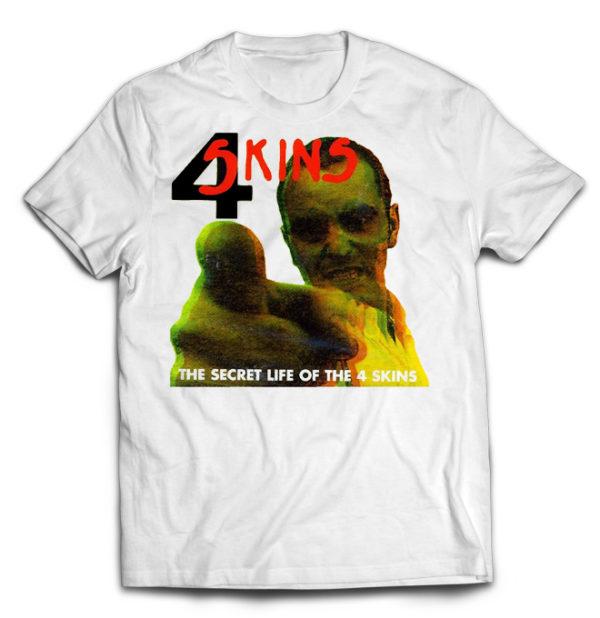 футболка белая 4 Skins