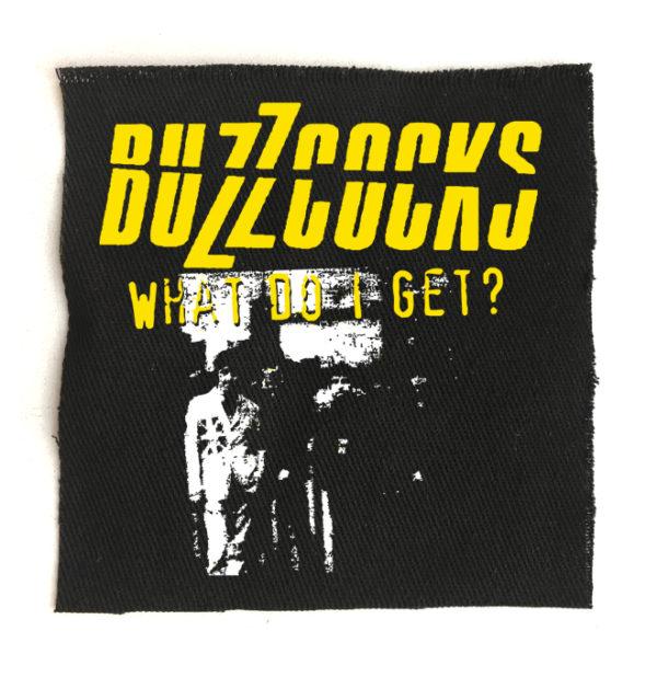 нашивка Buzzcocks