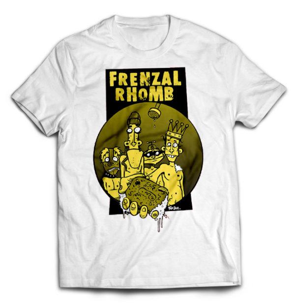 футболка белая Frenzal Rhomb