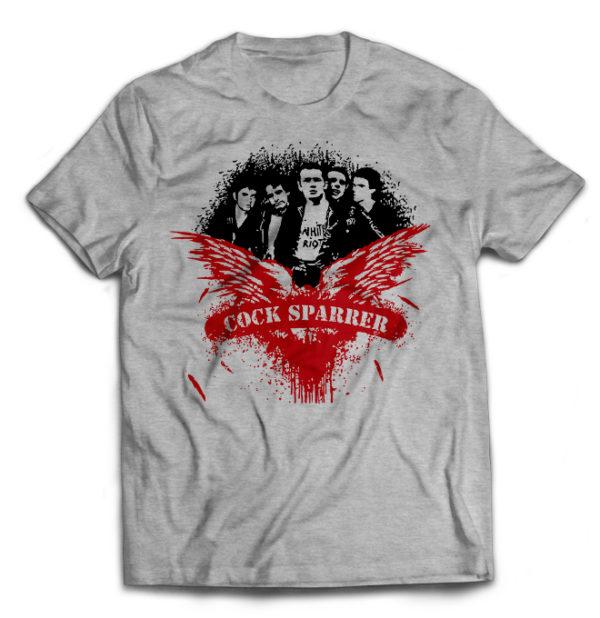 футболка серая Cock Sparrer