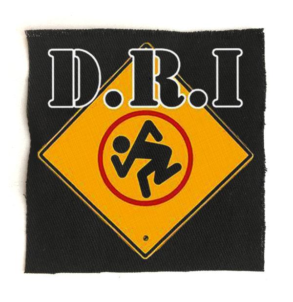 нашивка D.R.I.
