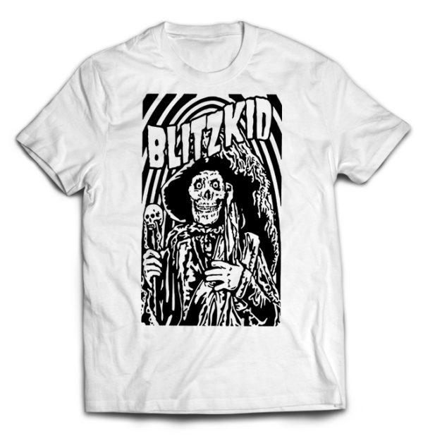 футболка белая Blitzkid
