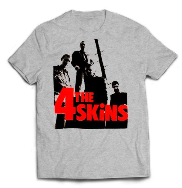 футболка серая 4 Skins