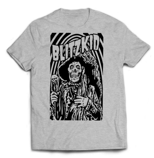 футболка серая Blitzkid