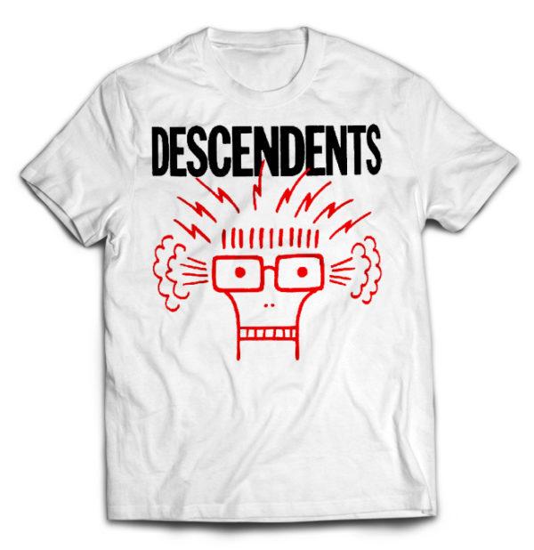 футболка белая Descendents