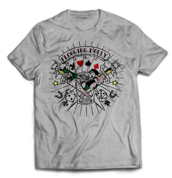 футболка серая Flogging Molly