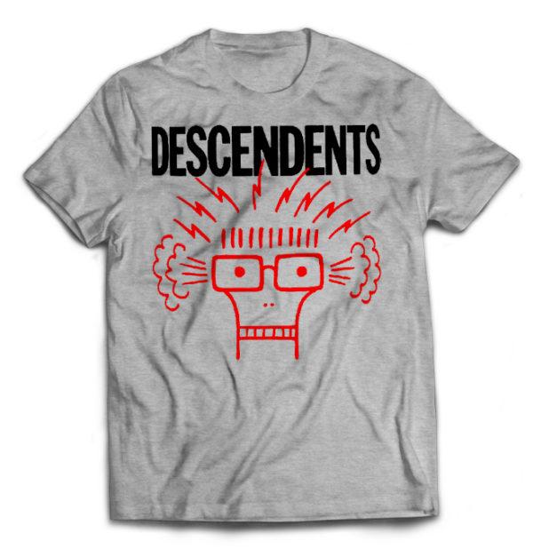 футболка серая Descendents