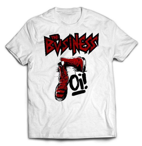 футболка белая Business
