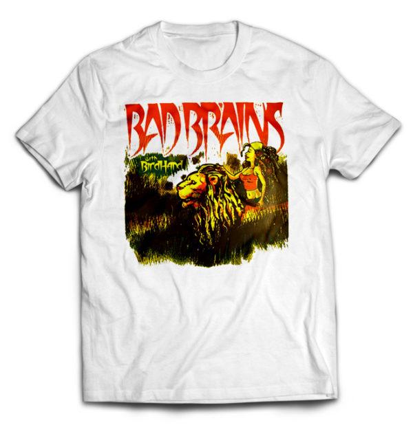 футболка белая Bad Brains