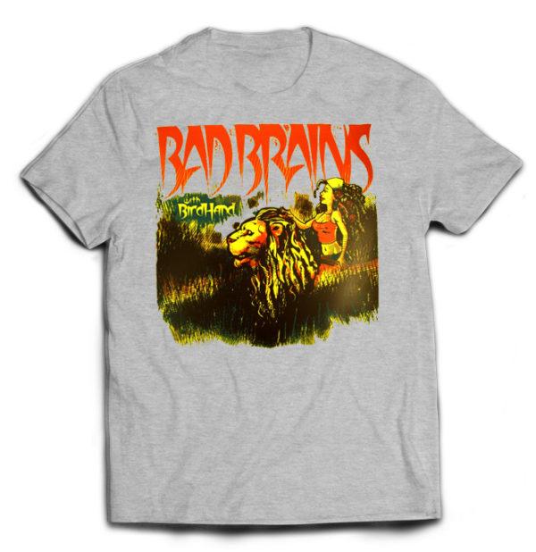 футболка серая Bad Brains