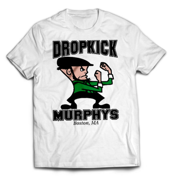 футболка белая Dropkick Murphys