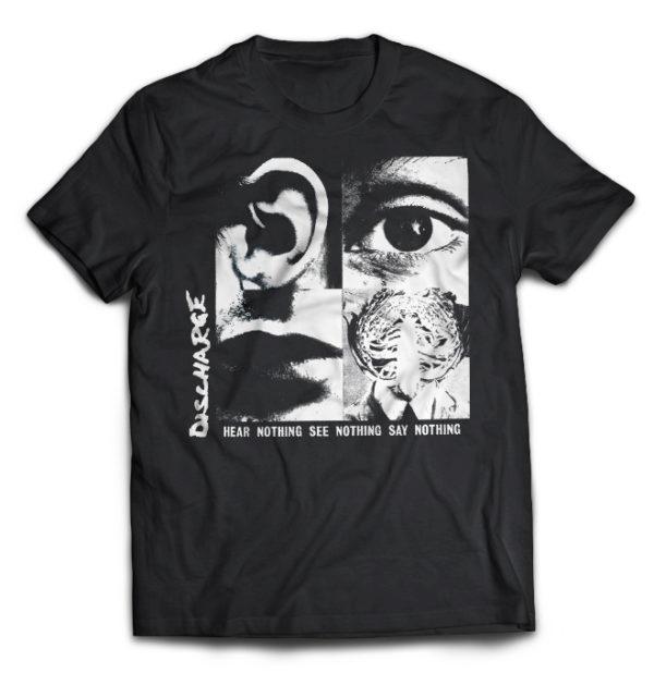 футболка Discharge