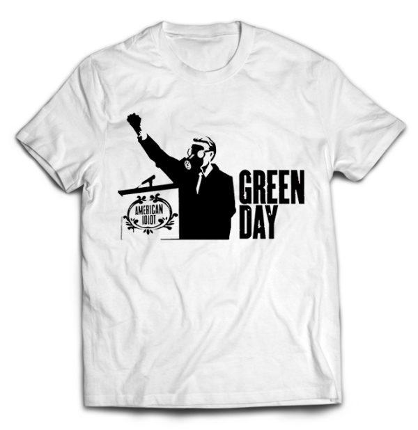 футболка белая Green day