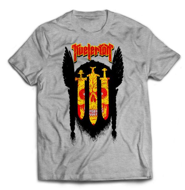футболка серая Kvelertak
