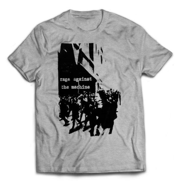 футболка серая Rage Against The Machine