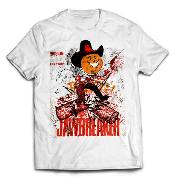 футболка белая Jawbreaker