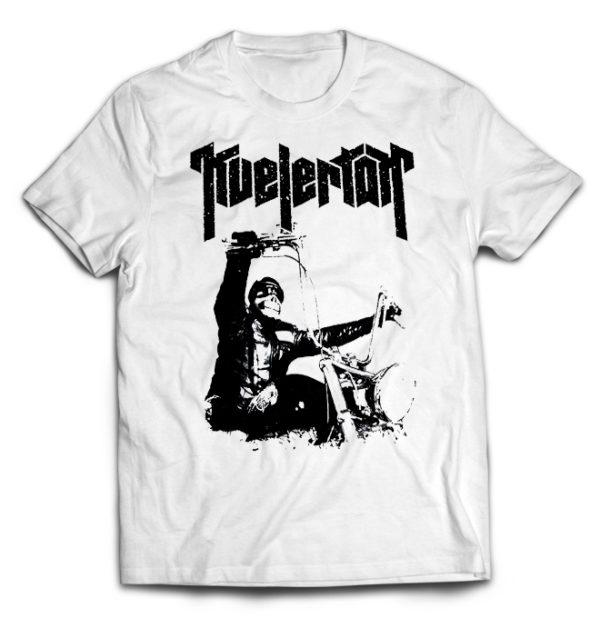 футболка белая Kvelertak