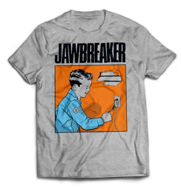 футболка серая Jawbreaker