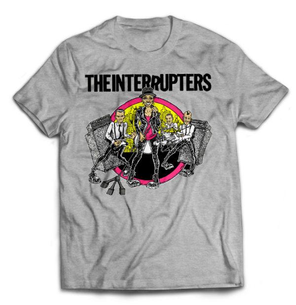 футболка серая Interrupters