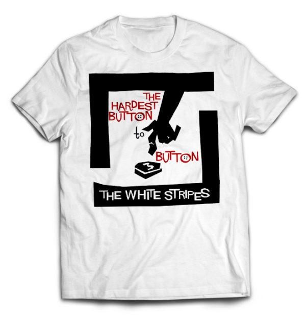 футболка белая White Stripes