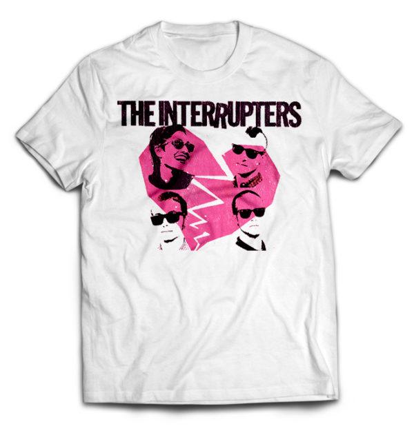 футболка белый Interrupters