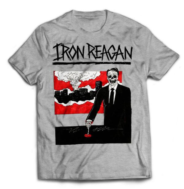 футболка серая Iron Reagan