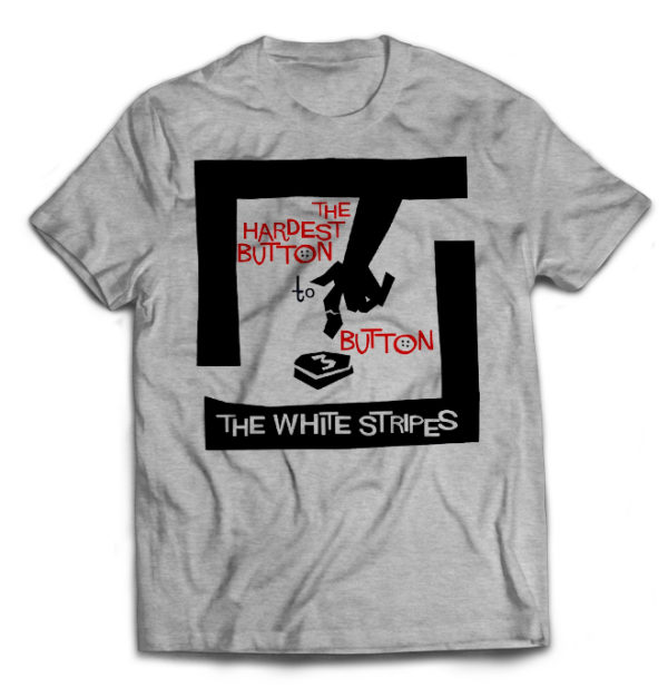 футболка серая White Stripes