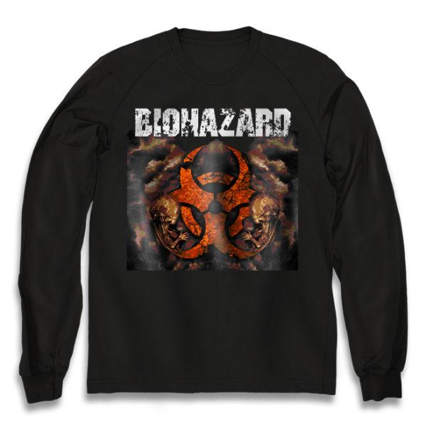 свитшот Biohazard