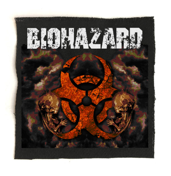 нашивка Biohazard