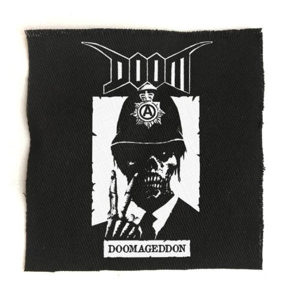 нашивка Doom