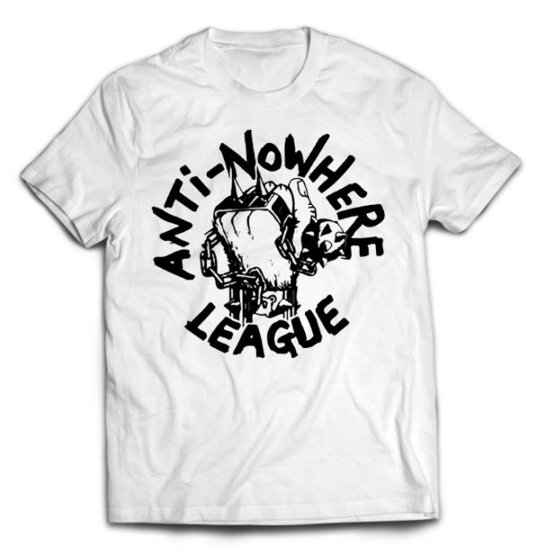 футболка белая Anti Nowhere League